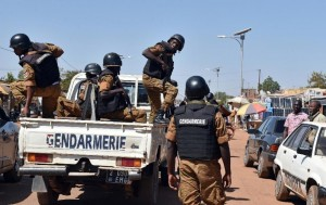 Burkina Faso deployed 25,000 members of the security forces to keep the peace during the election (AFP Photo/Issouf Sanogo)