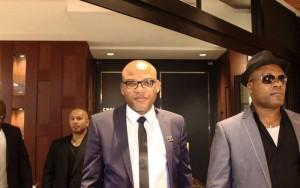 Nnamdi Kano (m), Director of Radio Biafra