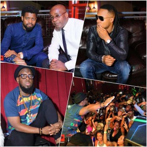 Mr Flavour, Timaya & Basketmouth in picture with DJ Chick are some of the big names that have featured at Station One