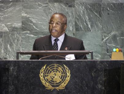 Festus Mogae, former president of Botswana