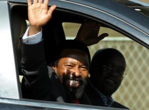 King Buyelekhaya Dalindyebo, a self-confessed marijuana smoker, was found guilty of torching dwellings that housed some of his subjects (AFP Photo/Alexander Joe)