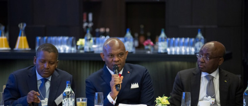 Dangote, Elumelu at World Economic Forum Davos