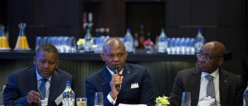 Dangote, Elumelu at World Economic Forum Davos