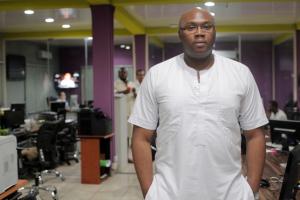 Jason Njoku, the founder and chief executive officer of iROKO