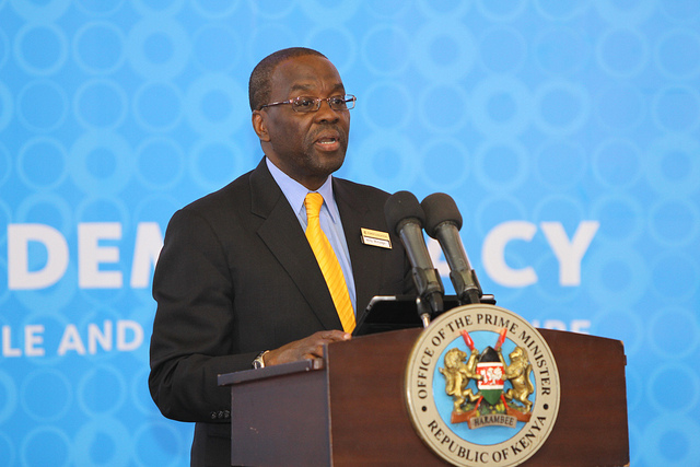 Hon. Justice Dr Willy Mutunga, Kenya's Chief Justice and President of the Supreme Court. Credit: Ford Foundation.