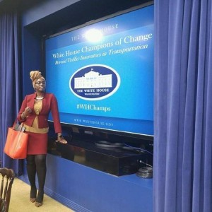 CAC 's Sylvie Bello at a White House Event on Innovation in Transportation