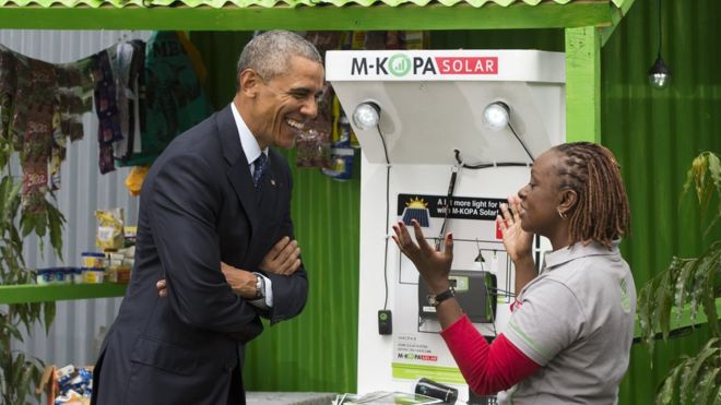 President Obama promoted the scheme during his tour of Africa last year