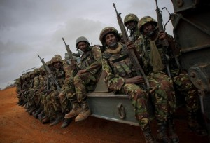 The African Union has deployed more than 22,000 troops in Somalia to protect the internationally-backed government in Mogadishu (AFP Photo/Stuart Price)