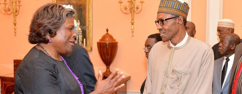 Assistant Secretary Greenfield with President Buhari