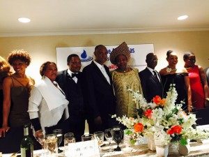 Ambassador Diabate with some of the guests at the Power Africa Dinner hosted by TAGA