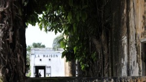 Grande Bassam is a Unesco world heritage site and gets visitors on the weekend from busy Abidjan