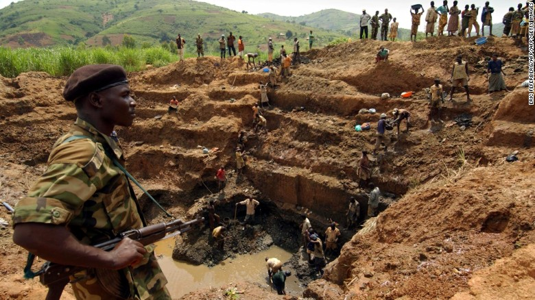 A gold mine in the Democratic Republic of Congo. The country holds natural resources worth trillions of dollars but the population is blighted with extreme poverty and violence. In a new edition of his book 'The Looting Machine,' investigative journalist Tom Burgis explores why resource-rich states are failing their people