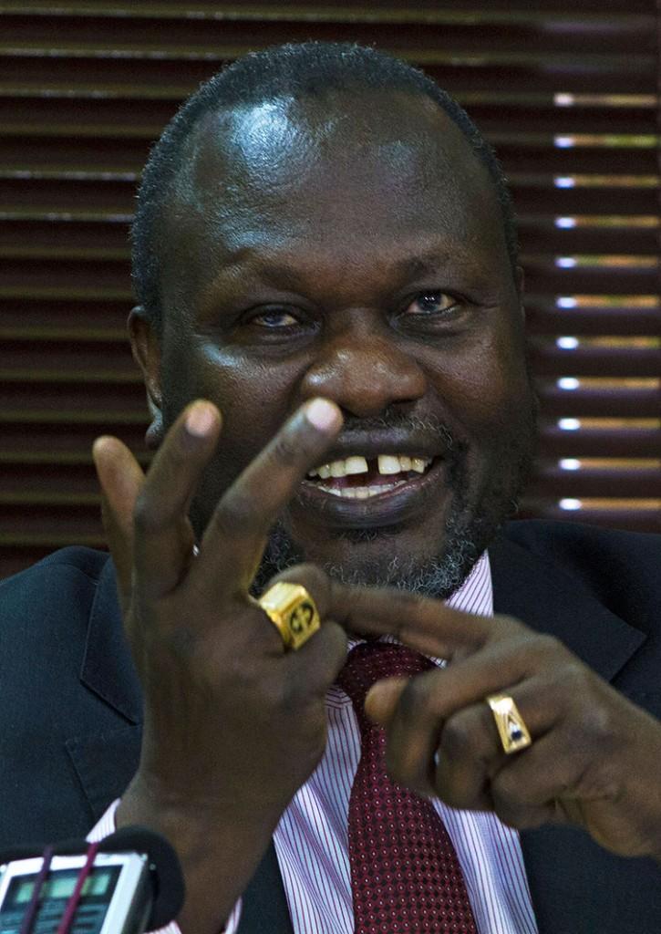 Riek Machar Photographer: Isaac Kasamani/AFPGetty Images