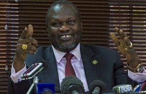 South Sudan's rebel leader Riek Machar's return to South Sudan and swearing-in as vice president will mark an important step in a floundering August 2015 peace deal (AFP Photo/Isaac Kasamani)