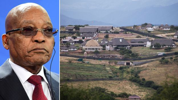 The Nkandla residence has become a political headache for President Zuma