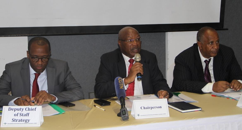 Interim Chairperson H.E. Ambassador Lt. Gen. Augostino Njoroge