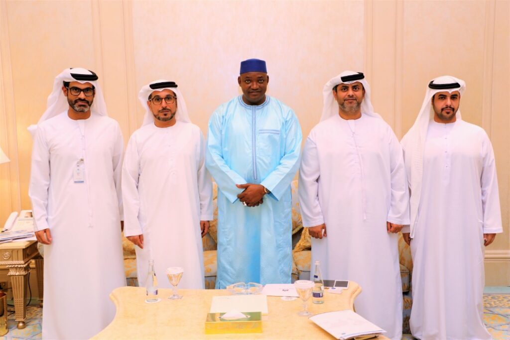 Barrow With Abu Dhabi Chamber of Commerce