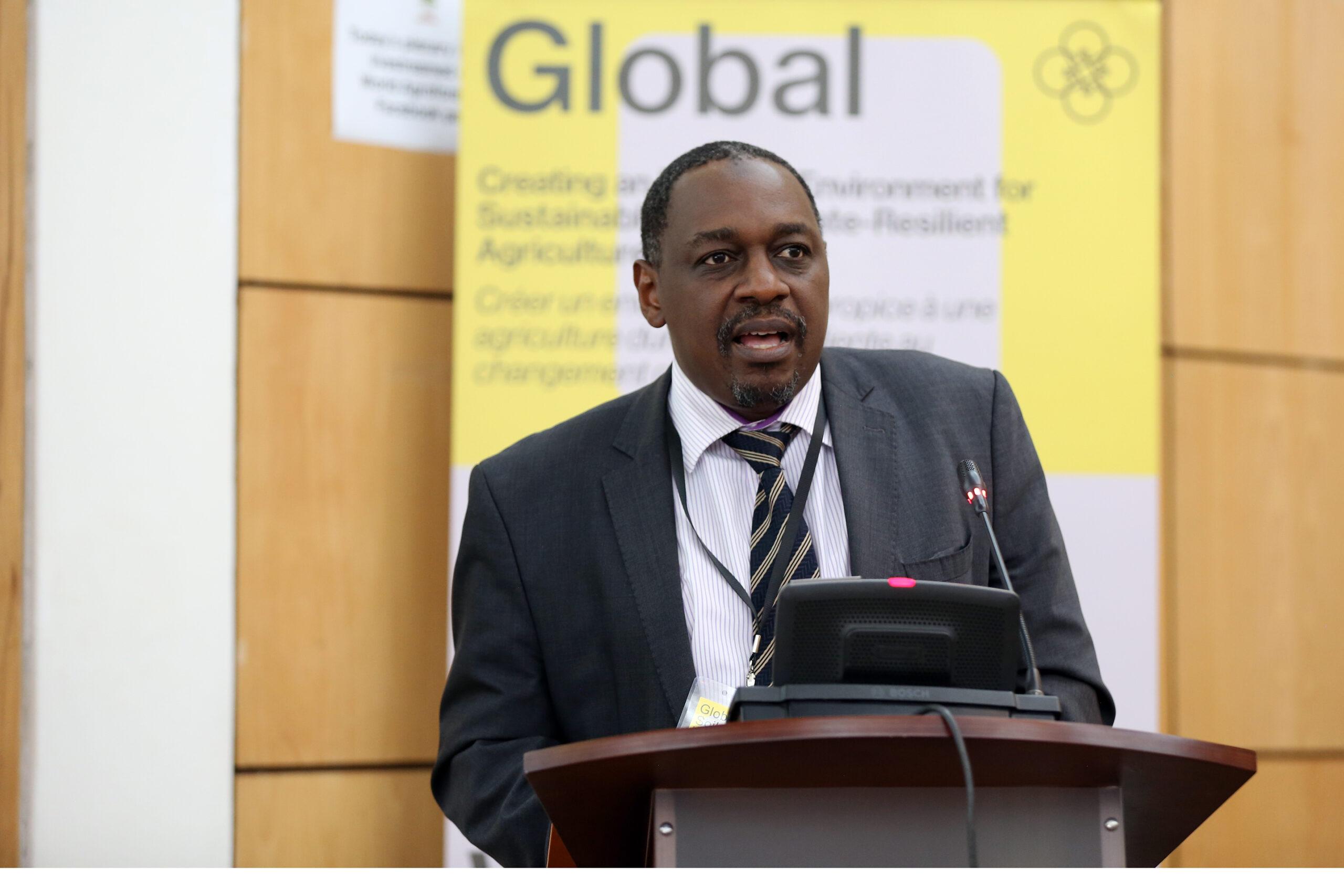 Kenyan Agriculture principal secretary Hamadi Boga,