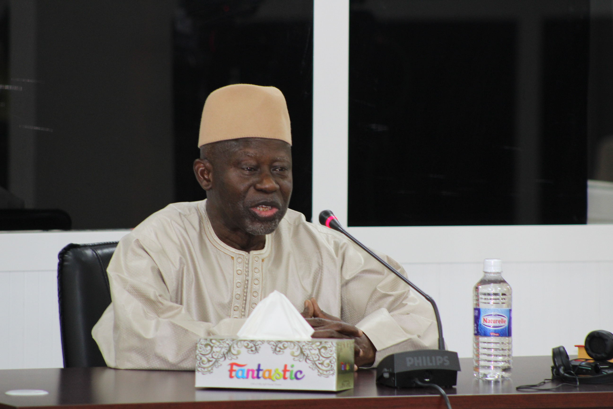 Ousainou Darboe, leader of United Democratic Party