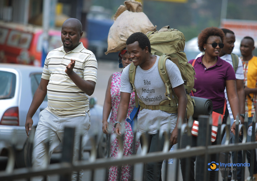 Ntigurirwa arriving in Kigali