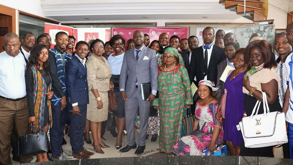 Staff of Foretia foundation, guest speakers and participants during the International Nelson Mandela Day