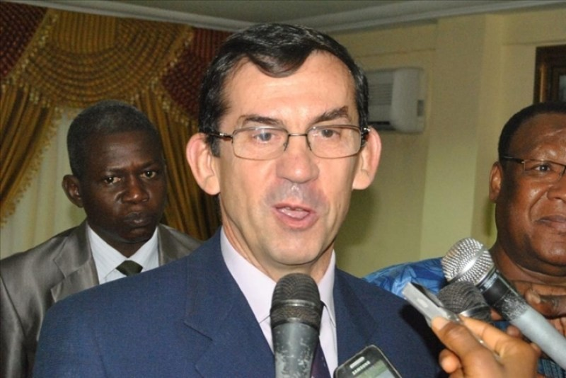 French ambassador to Cameroon Gilles Thibault