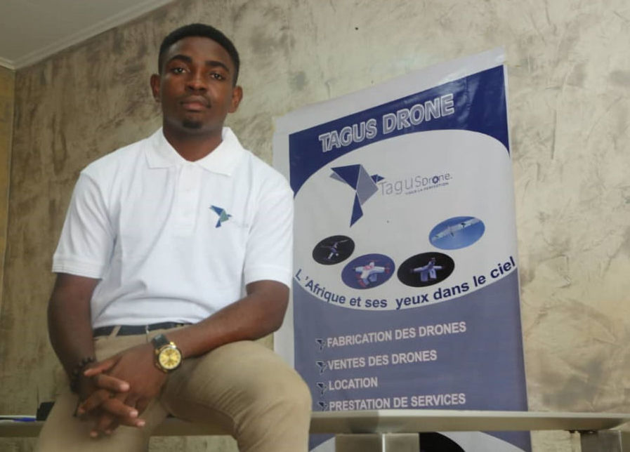 25 year-old Borel Teguia creates drone to help fight Boko Haram