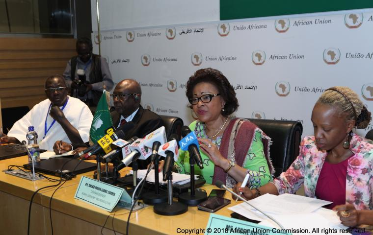 Josefa Sacko, AU Commissioner for Rural Economy and Agriculture of the African Union