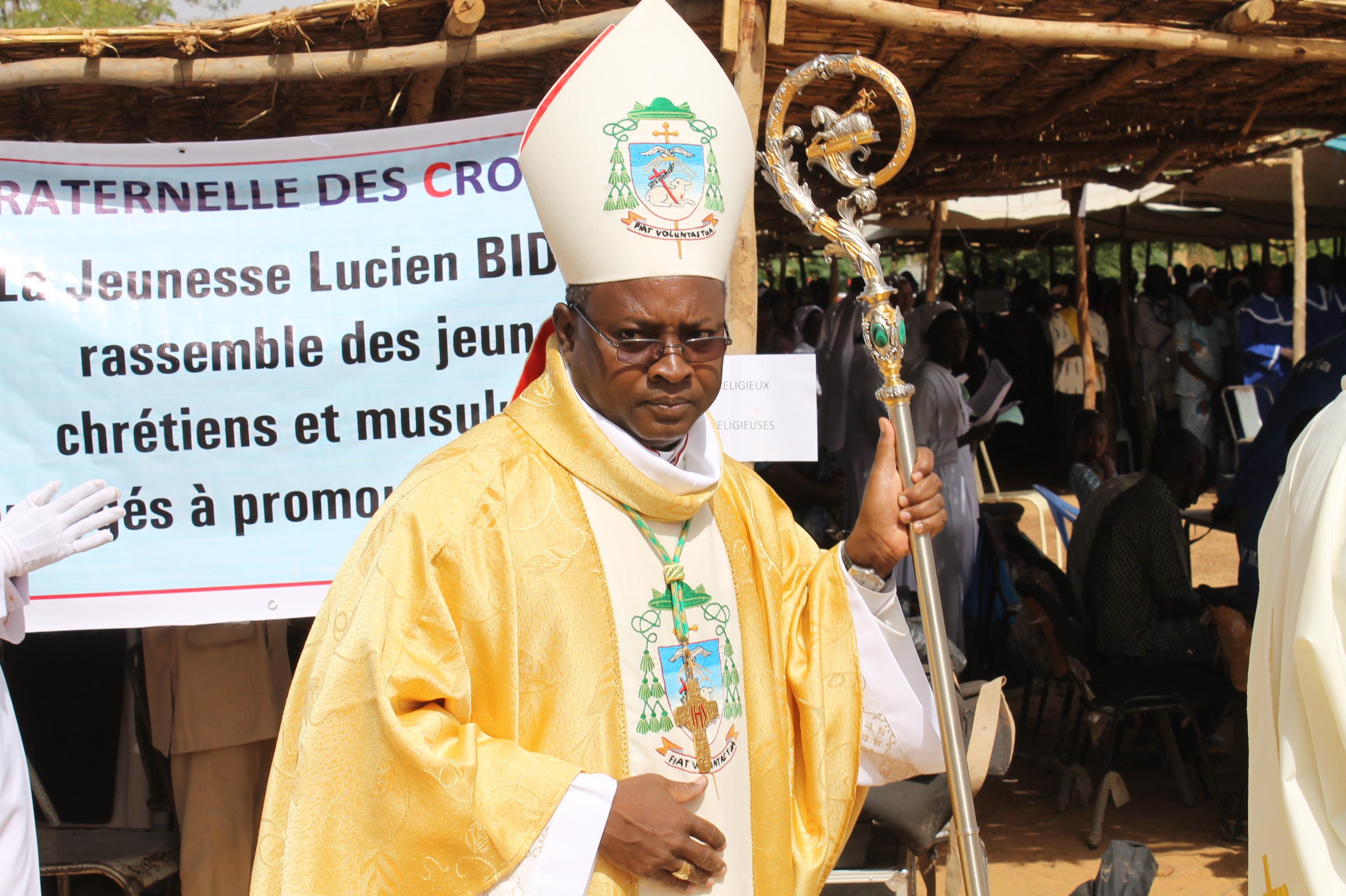 Burkina Faso Bishop Laurent Birfuoré Dabiré (© ACN)