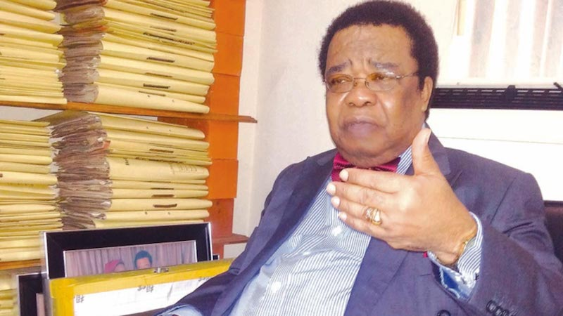 Government does not do what is right unless it is pushed ,says Prof Akinyemi