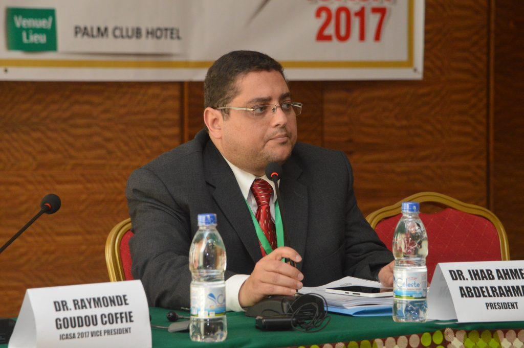 Dr. Ihab Ahmed, SAA President