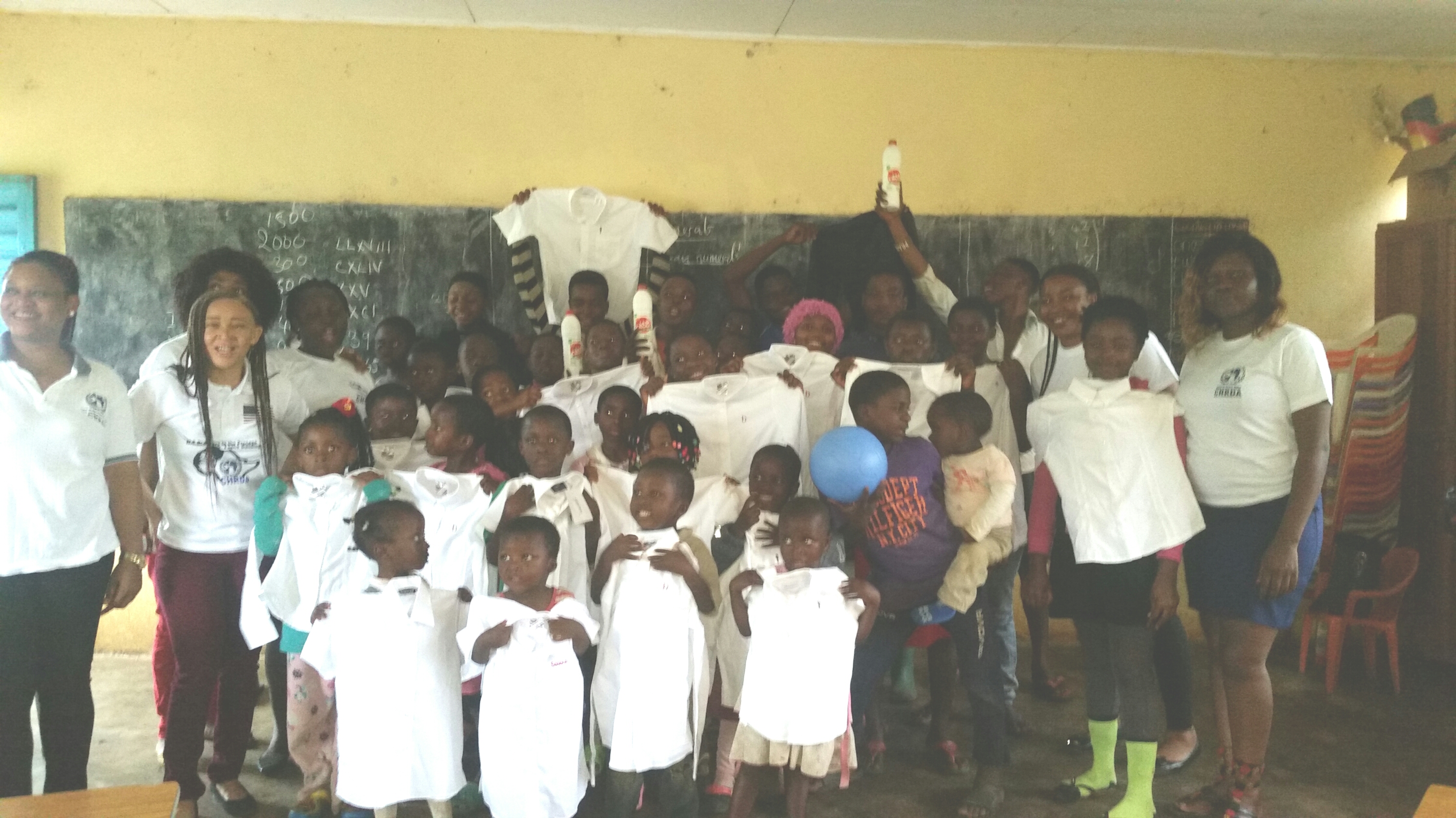 CHRDA's humanitarian gesture to displaced and other orphans at HOTPEC