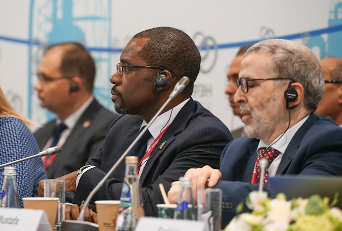 Gabriel Mbaga Obiang Lima, Equatorial Guinea's Minister of Mines and Hydrocarbons