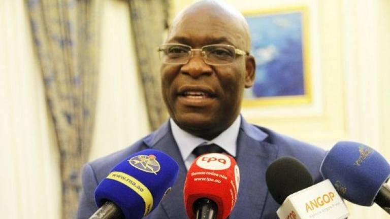 Equatorial Guinea's Foreign Minister Simeon Oyono Esono Angue