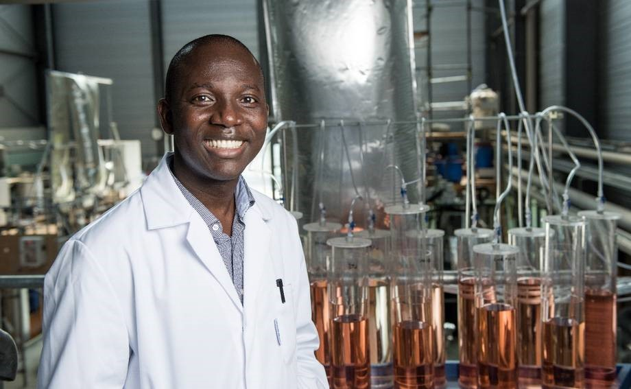 Ghanaian-born Issac Mbir Bryant is the 2019 World Champion in Bioprocess Engineering (Photo:Brandenburg university of Technology)