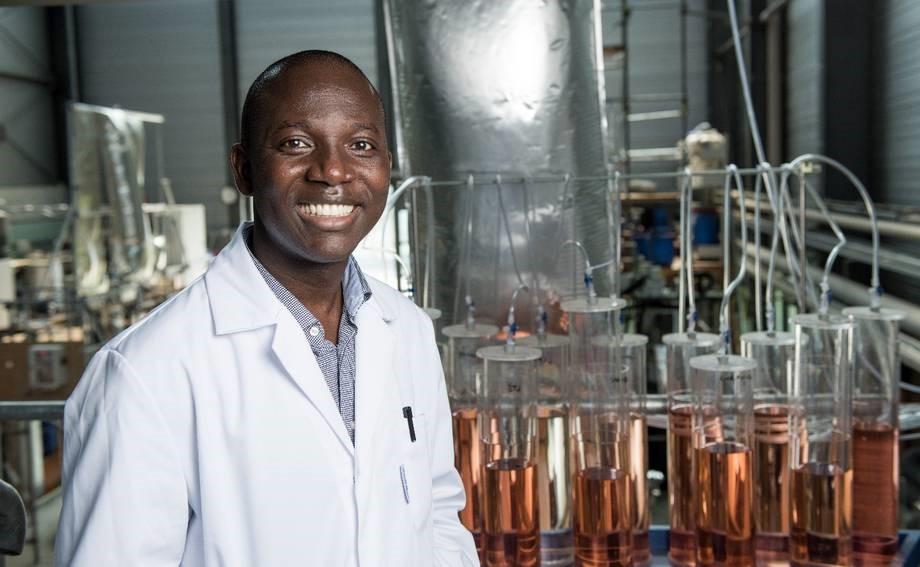 Ghanaian-born Issac Mbir Bryant is the 2019 World Champion in Bioprocess Engineering (Photo:Brandenburg university of Technology)