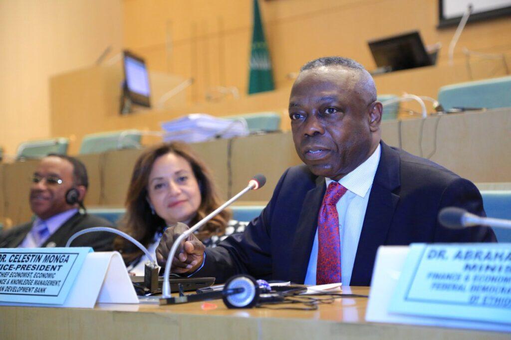 African Development Bank Vice-president Celestin Monga