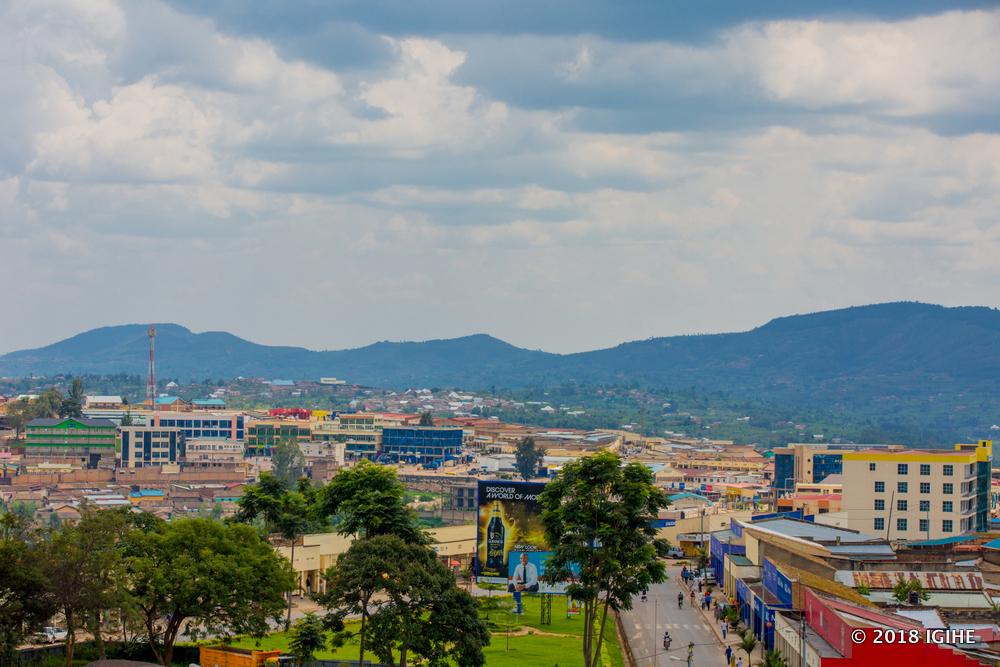 Muhanga City is one of the second cities in Rwanda