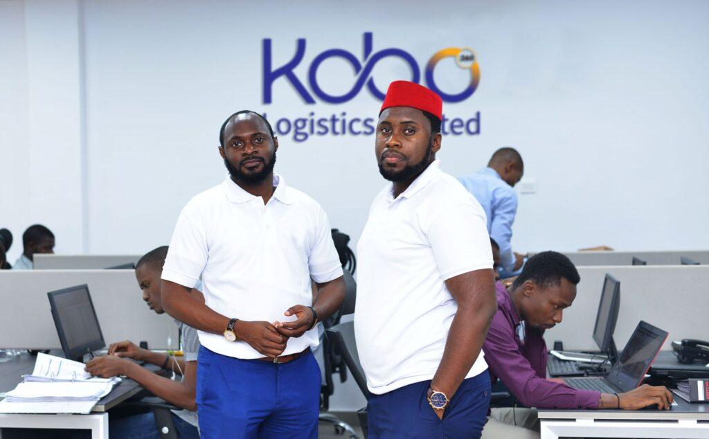 Obi Ozor & Ife Oyedele II - Kobo360 Co-Founders