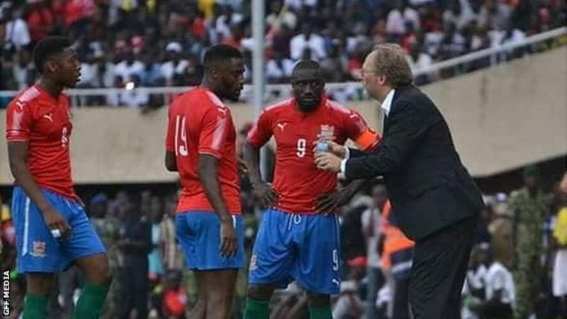 Coach Tom Saintfiet has had his contract with the Gambia extended for two more years.