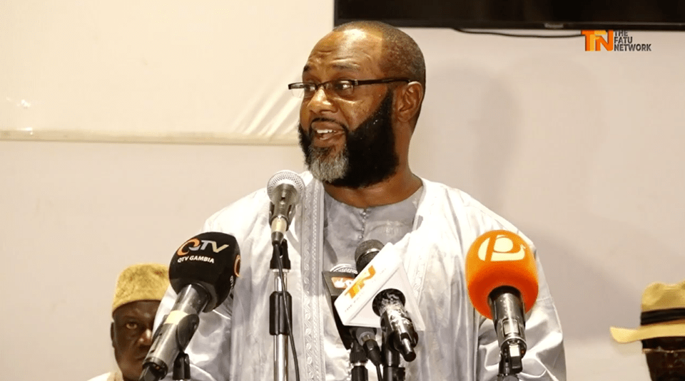 Musa Yali- Batchilly, leader of Gambia Action Party