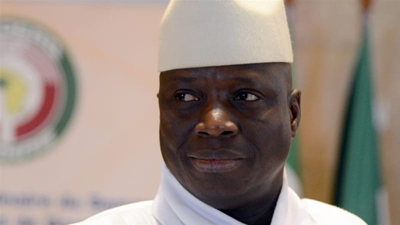Yahya Jammeh ruled the tiny West African country for two decades [Issouf Sanogo/AFP]