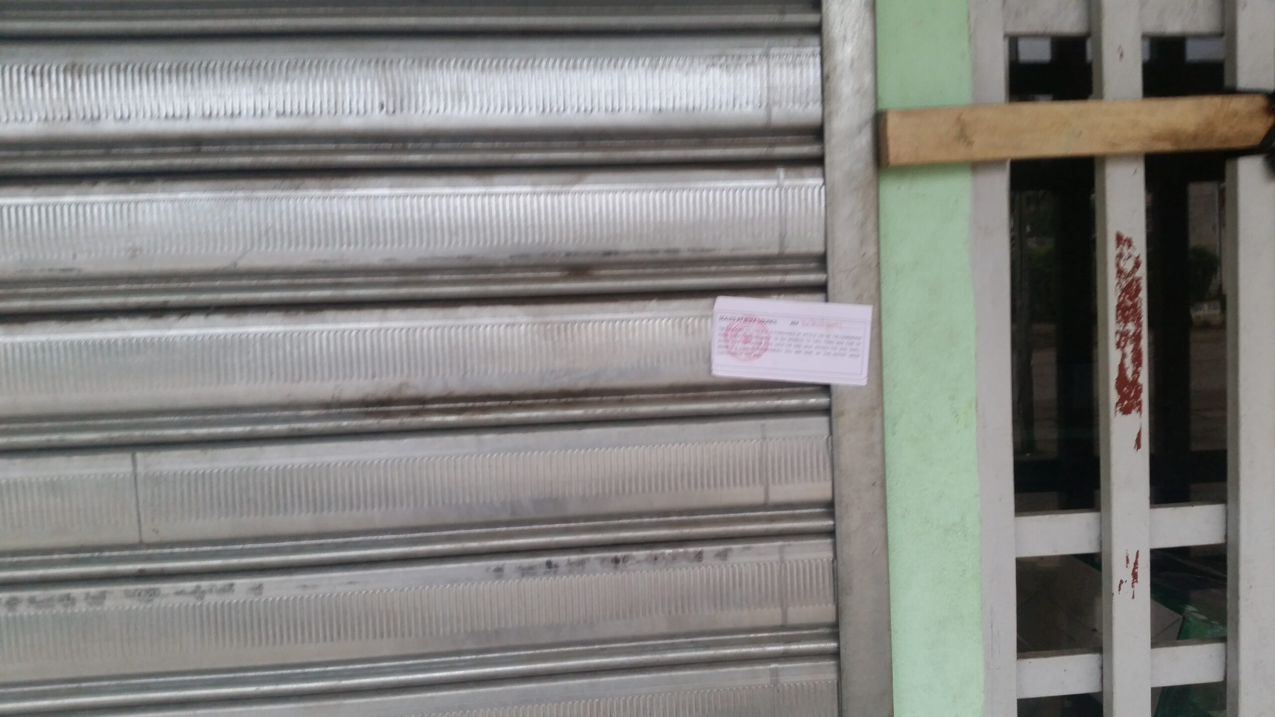 Shop sealed in Buea for respecting ghost town