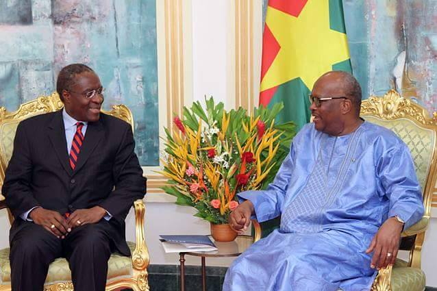 The next generation of Africans expect a better continent from its leaders,says Dr Fomunyoh here with President Roch Marc Kabore of Burkina Faso.