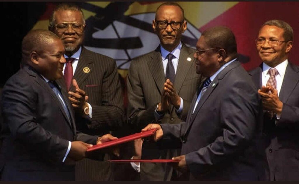 Serving and former Presidents from several countries graced the signature ceremony of a new peace accord between the government and the leading opposition movement recently