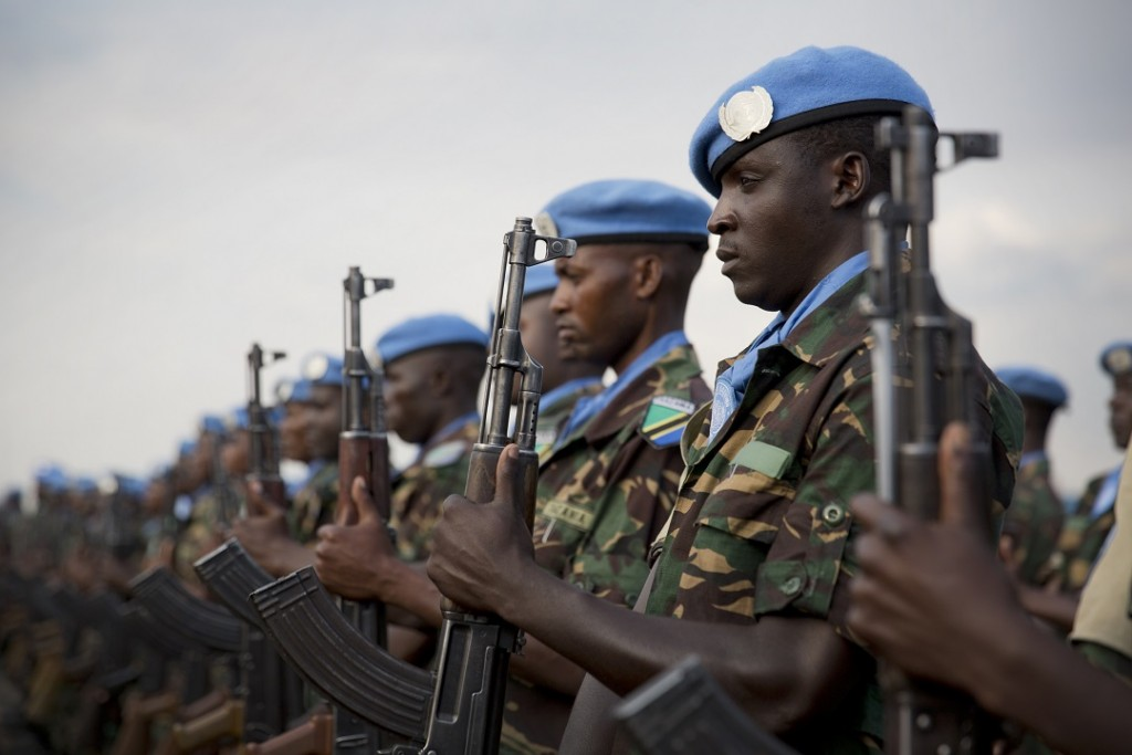 UN peacekepeers in Congo