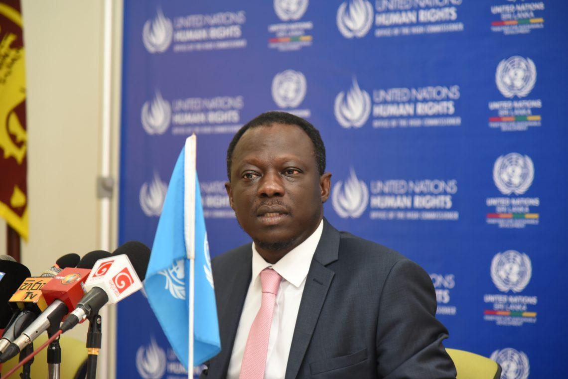 UN Special Rapporteur Clément Nyaletsossi Voule