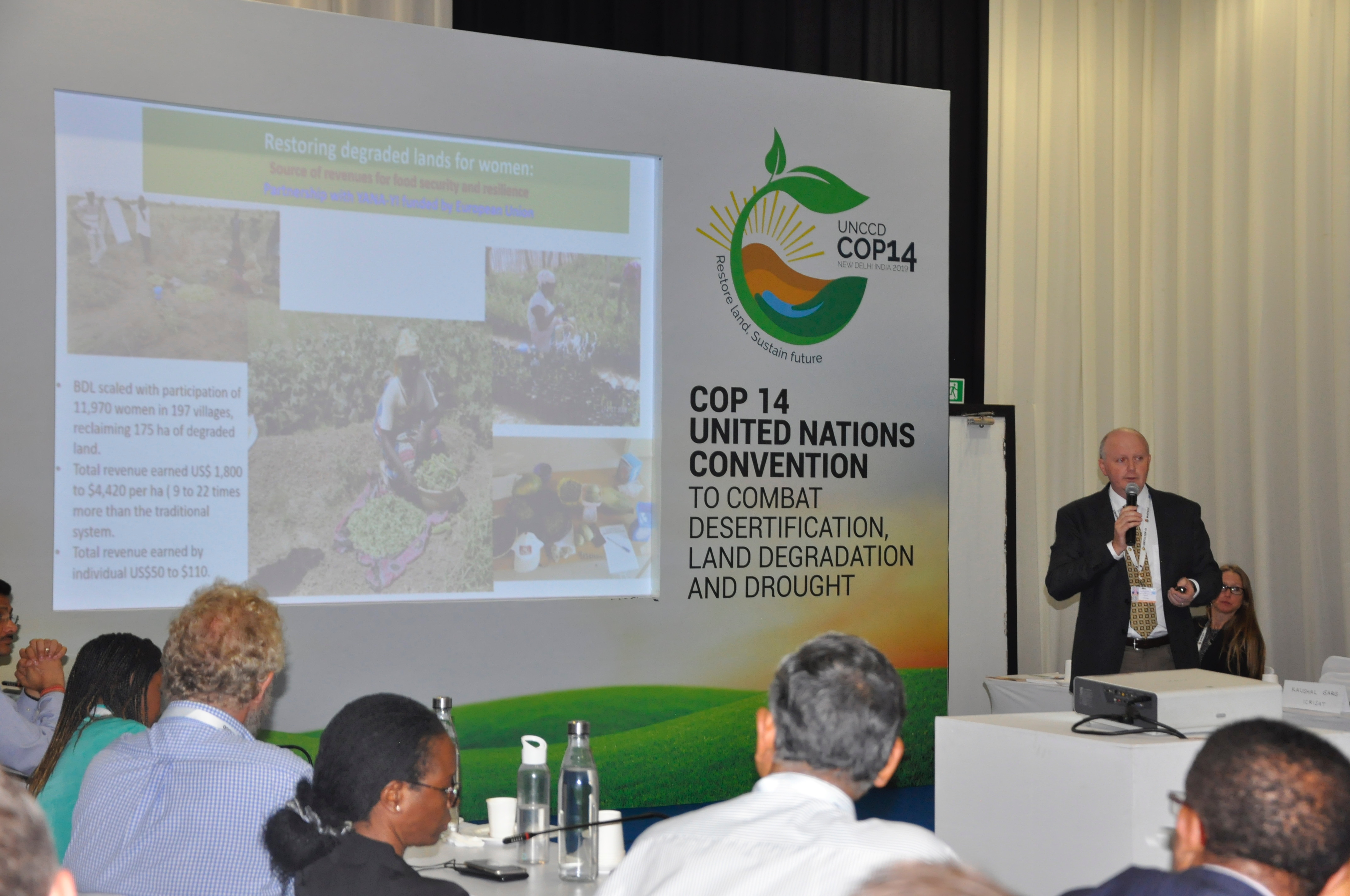 Dr Anthony Whitbread speaks about the gender significance of land restoration in Niger.