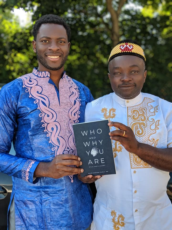 The book is a reminder of the infinite possibilities of greatness says Roland Achenjang
