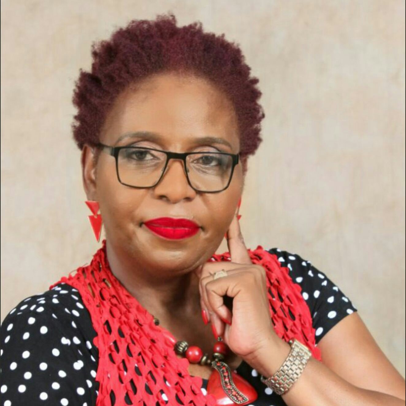 Reverend Dr Abigail Magwenzi Founder and Director of Red Lipstick Revolution